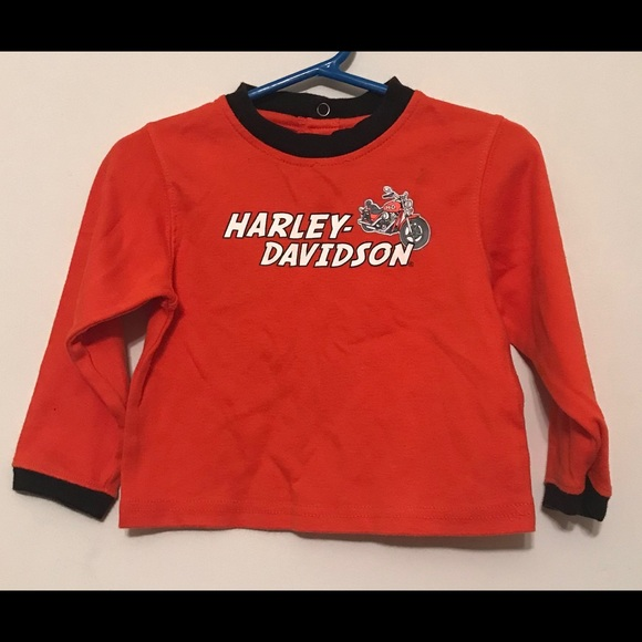 Shirts Tops Harley Davidson Infant Long Sleeve Shirt Poshmark